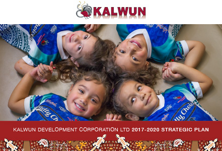 kalwun 2017 2020 strategic plan cover